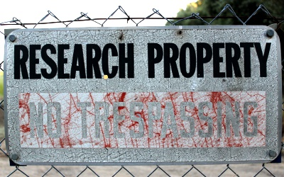 Research Property Sign, Davis, California